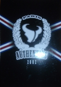 [GROUPE] - PARIS SG - Authentiks 2002