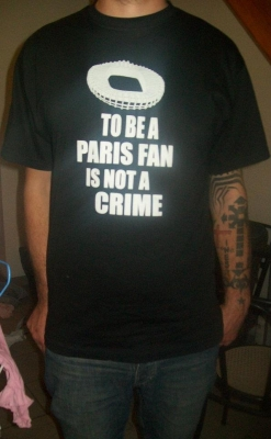 T-shirt Paris Fans